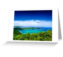 Post Card from Hawaii  Greeting Card