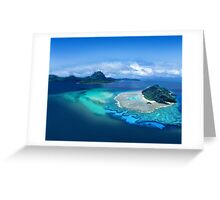 Exotic Post Card Greeting Card