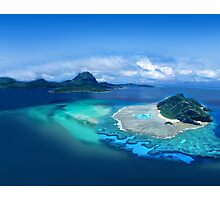 Exotic Post Card Photographic Print