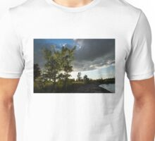 Cottonwood Tree Dramatic Light Unisex T-Shirt