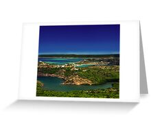 Post Card from Mauritius Greeting Card