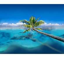 Post Card from Micronesia   Photographic Print