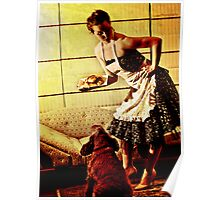 Kirsty - 50s House Wife Poster