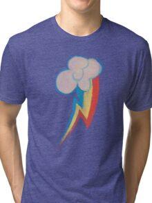 Painted Rainbow Tri-blend T-Shirt