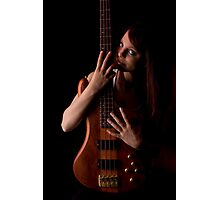 Love da Bass Photographic Print