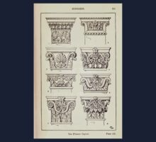 A Handbook Of Ornament With Three Hundred Plates Franz Sales Meyer 1896 0231 Supports Pilaster Capital Kids Tee