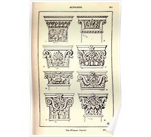 A Handbook Of Ornament With Three Hundred Plates Franz Sales Meyer 1896 0231 Supports Pilaster Capital Poster