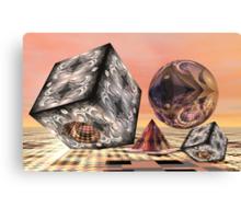 Mathematical fun Canvas Print