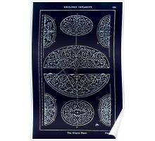 A Handbook Of Ornament With Three Hundred Plates Franz Sales Meyer 1896 0285 Enclosed Ornament Elliptic Panel Inverted Poster