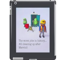 The worst jobs in history! iPad Case/Skin