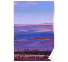 Dusk at Cooke Point Port Hedland WA Poster