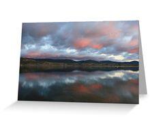 Lake Jindabyne Greeting Card