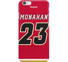 Calgary Flames Sean Monahan Jersey Back Phone Case iPhone Case/Skin