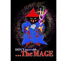 The Mage Photographic Print