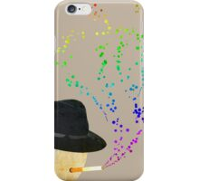 Smoking Bubbles iPhone Case/Skin