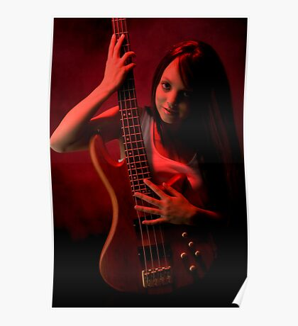 Da Bass in the Hands of da Devil (cheeky!) Poster