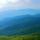 Blue Ridge Mountains by mrthink