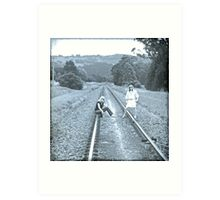 Getting Your Life On Track! Art Print