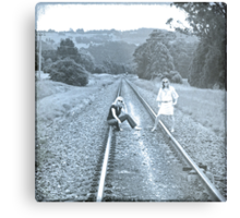Getting Your Life On Track! Metal Print