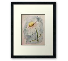 Water Daisy Framed Print