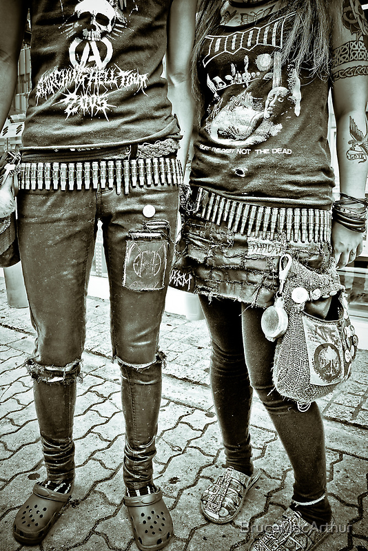 Punk Rockers by BruceMacArthur