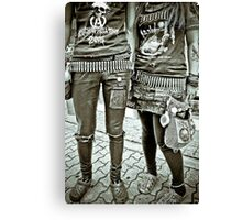 Punk Rockers Canvas Print