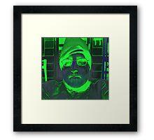 15 00101 0 x tri-color 4  Framed Print