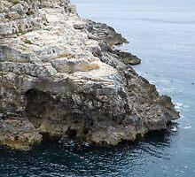Rocky Coast and Sea by Inimma