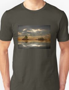 Magical light and water reflections landscape T-Shirt