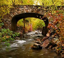 Stone Bridge Crossing by David Kocherhans