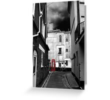 Phone-box Greeting Card