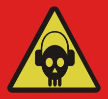 Skull head danger  DJ by sledgehammer