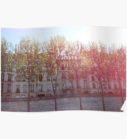 Parisian Terrace Poster