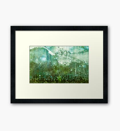 Approach to the Castle Framed Print