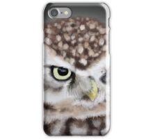Burrowing Owl Portrait II iPhone Case/Skin