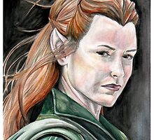 Tauriel by Persis Johnson