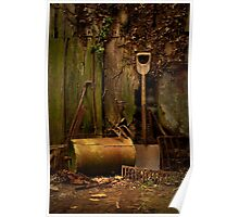 Old Garden Tools Poster