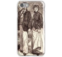 Victorian Couple iPhone Case/Skin