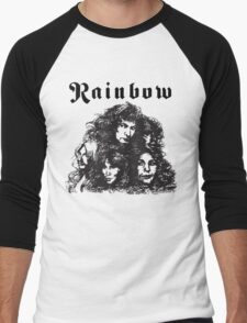 Ritchie Blackmore Rainbow Men's Baseball ¾ T-Shirt