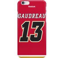 Calgary Flames Johnny Gaudreau Jersey Back Phone Case iPhone Case/Skin