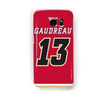 Calgary Flames Johnny Gaudreau Jersey Back Phone Case Samsung Galaxy Case/Skin