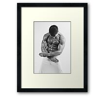 Don't Need Your Touch Framed Print