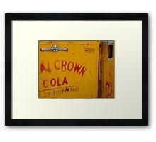 Royal Crown Framed Print