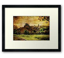 Downham Villiage Framed Print