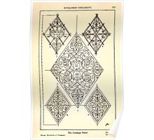 A Handbook Of Ornament With Three Hundred Plates Franz Sales Meyer 1896 0289 Enclosed Ornament Lozenge Panel Poster