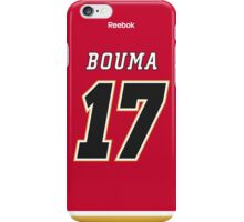 Calgary Flames Lance Bouma Jersey Back Phone Case iPhone Case/Skin