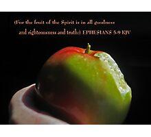 Fruit of the spirit Photographic Print