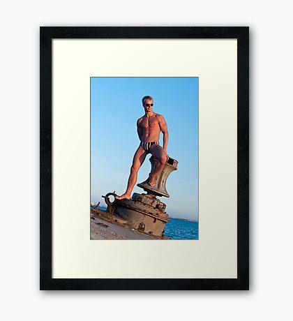 Cap Framed Print