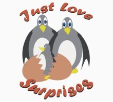Just Love Surprises Kids Tee