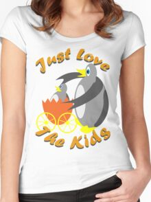 Just Love The Kids Women's Fitted Scoop T-Shirt